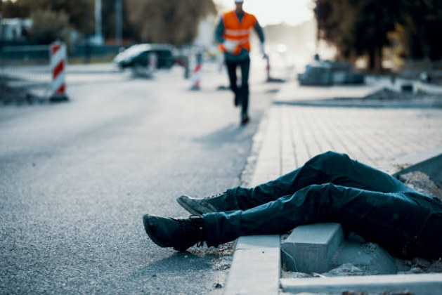 Injuries and Legal Consequences Resulting from Careless Walking in a Construction Zone